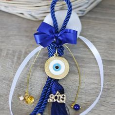 Handmade greek jewelry and crochet accessories! New Years Eve Decorations, Christmas Decorations, Christmas Ornaments, Greek Jewelry, Unique Jewelry, Greek Christmas, Greek Decor, Greek Evil Eye, Greek Easter