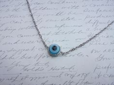 Evil eye protection necklace de la boutique BijouxdeBrigitte sur Etsy