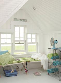 House of Turquoise: Coastal Living Idea Cottage-beach sign