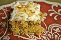 Carrot/Mandarin cake - only 6 Weight Watchers points!