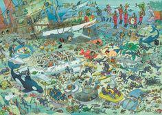 Jan van Haasteren Onderwater Wereld