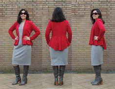 McCall's 6844 knit jacket, view C | http://workingthroughmystash.blogspot.nl/