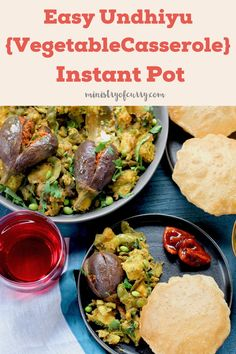 Instant Pot Dinner Recipes, Delicious Dinner Recipes, Curry Recipes, Vegetarian Recipes, Healthy Recipes, Mixed Vegetable Casserole, Purple Yam, Biryani Recipe, Eggplants