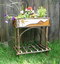 Beautiful rustic planter boxs available in all sizes. Twig Furniture, Adirondack Furniture, Rustic Design, Rustic Decor, Rustic Planters, Sticks And Stones, Arts And Crafts, Scene, Outdoor Stuff