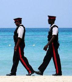 Jamaican police, police in Jamaica Jamaican People, Jamaican Art, Visit Jamaica, Jamaica Jamaica, Jamaica History, Police Officer, Police Police, First Love, My Love