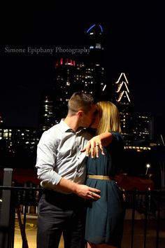 She said yes! Proposal portraits in Austin Texas by Simone Epiphany Photography