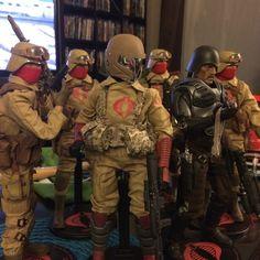 Major Bludd & Desert Squad, by Chad Lawless
