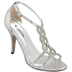 silver bridesmaid shoes | ... wedding boots elegant wedding wedges ...