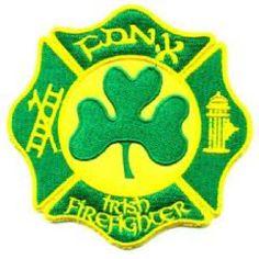 FDNY - Irish Firefighter patch