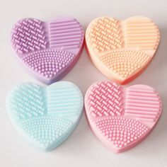 Click 2 Order Colorful Heart Sh... http://beauty-e-tailer.myshopify.com/products/colorful-heart-shape-clean-make-up-brushes-wash-brush-silica-glove-scrubber-board-cosmetic-cleaning-tools-for-makeup-brushes?utm_campaign=social_autopilot&utm_source=pin&utm_medium=pinl
