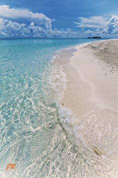 ~~Crystal Water and the Ocean ~ Elements Marriage ~ Where the Water meets the Sky, Maldives by Jenny Rainbow~~
