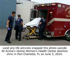 Abortionist Injures Two Women in Botched Abortions on the Same Day http://www.lifenews.com/2014/06/09/abortionist-injures-two-women-in-botched-abortions-on-the-same-day/