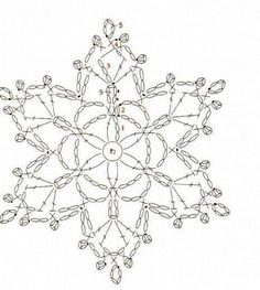 Helen's Home Helen's World: crochet Crochet Snowflake Pattern, Crochet Stars, Crochet Motifs, Crochet Snowflakes, Crochet Diagram, Crochet Doilies, Crochet Flowers, Crochet Stitches, Crochet Patterns