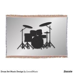 Drum Set Music Desig