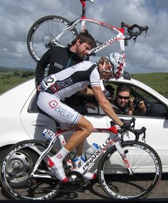 Mid-race adjustment