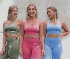Who loves Seamless Leggings? Our Seamless Collection is now LIVE at wildp. by Wild Purpose™ Seamless Leggings, Girls Who Lift, Girl Power, Squats, Fitspo, Fitness Models, Fitness Apparel, Bra, Squat