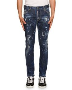 DSQUARED2 COOL GUY AMERICAN PIE JEANS, BLUE. #dsquared2 #cloth #