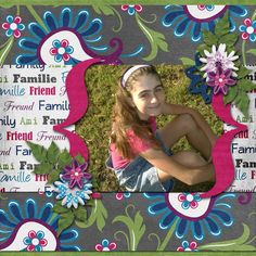 A picture of my daughter.  Kit used:  Closely Knit by Marie H. Designs available at http://www.godigitalscrapbooking.com/shop/index.php?main_page=index&manufacturers_id=147  Template by Triple J Designs.