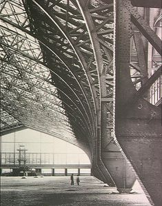 19TH CENTURY, Industrial Architecture, France  - The Hall des Machines; built for the Paris Exhibition of 1889, mainly by engineers V. Contamin, details by the architect Dutert