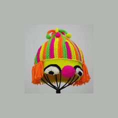 Ravelry Little Clown Baby Hat Pattern By Irina Poludnenko Eeeek I