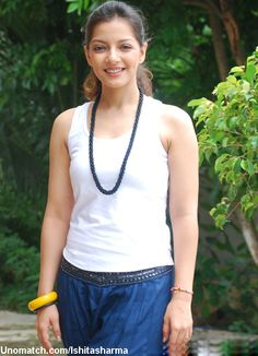 Ishita Sharma is an Indian actress. Ishita Sharma stepped into Bollywood with a prime role in Dil Dosti Etc and went on to play the parallel lead in Shahrukh Khan's Dulha Mil Gaya. like : http://www.Unomatch.com/Ishitasharma/