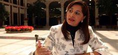 Mirna García López, ex dirigente de la sección XV del SNTE fue detenida en Pachucha por elementos de la Coordinación de Investigación, al ser acusada del desvío de 123 millones de pesos.