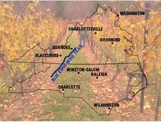 NORTH CAROLINA WINERIES AND VIRGINIA WINERIES AND WINES NEAR THE BLUE RIDGE PARKWAY