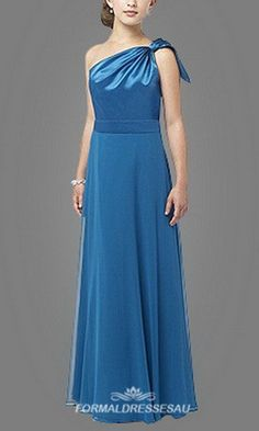 Full length Junior Bridesmaid Dress FDA0169