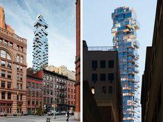 56 Leonard Street                   New York City                   Architects: Herzog & de Meuron