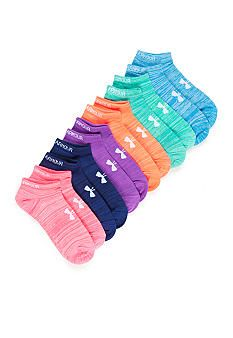 13f37acffe Under Armour® Liner No Show Socks- 6 Pack