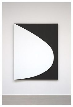 "Ellsworth Kelly. Not considered a ""hard-edge painter,"" but a maker of hard-edge paintings nonetheless."