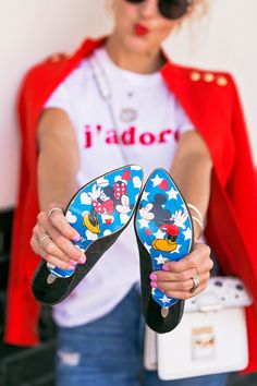 mickey mouse pumps.