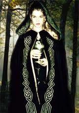 beautiful celtic cloak