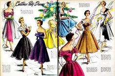 vintage holiday party dresses | vintage party dresses vintage-christmas | Adventure | Pinterest