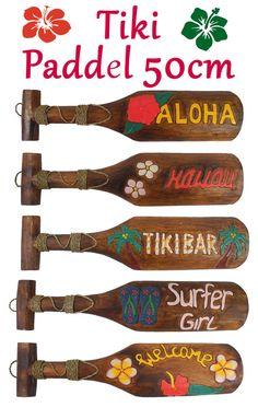 Hawaii Tiki Aloha Maske Wandbrett 30 cm Wandschild Deko Schild Bali Südsee 10