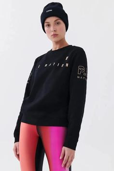 A classic athleisure piece, P.E Nation's Game Card Sweat is cut from luxurious mid-weight organic cotton French terry. With ribbed details and a sporty logo, it's ideal for throwing on pre and post workout. Sports Luxe, Lifestyle Trends, Way Of Life, Athleisure, Card Games, Fashion Forward, Lounge Wear, Sportswear, Organic Cotton