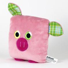 Poketti Plushies Series2 Flynn the Pig