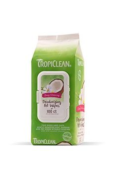 TropiClean Hypo Allergenic Deodorizing Bath Wipes are mild enough for puppies, kittens and those with allergies. Our mild coconut cleanser gently lifts away dirt, drool, pollen and other potential unmentionables, leaving them fresh and ready to snuggle. Dog Grooming Supplies, Cat Grooming, Deep Cleaning, Cleaning Wipes, Nursing Supplies, Dog Food Storage, Dog Shower, Dog Shampoo, Pet Odors