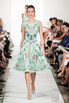 Oscar de la Renta - Ready-to-Wear - Spring-summer 2014 - http://www.flip-zone.net/fashion/ready-to-wear/fashion-houses-42/oscar-de-la-renta-4097 - ©PixelFormula