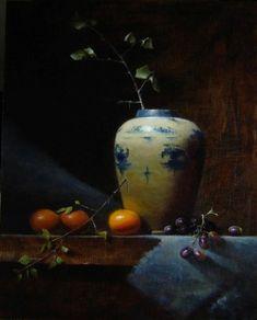 Ginger Jar with Satsuma Timothy Perkins artist