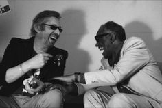 Serge Gainbourg and Ray Charles @lenoircissique