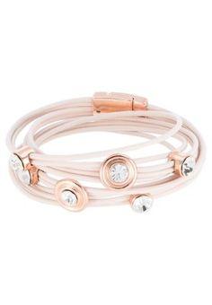 Very nice! Sweet deluxe Bracciale - bianco - Zalando.it #accessories #women #covetme