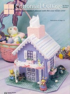 Cottontail Kleenex cottage finished project.pattern follows