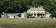Next door: The Gatcombe Park house and farming estate were bought by Queen Elizabeth II in 1976 for her daughter and then-husband Captain Mark Phillips