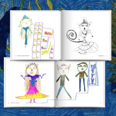 Child's drawings photo book   Ideas and templates   #ZOOMBOOK