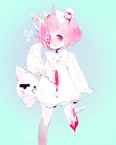 anime   bloody   cute   forget   gorey   grey   pastel