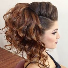 Love this do by So fierce😍Thank you tagging me Up Hairstyles, Pretty Hairstyles, Braided Hairstyles, Wedding Hairstyles, Faux Hawk Hairstyles, Hairdos, Bridesmaid Hair, Hair Today, Hair Hacks