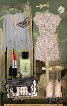 """My """"Speckled Moth"""" Dream Outfit from my blog, Honey Kennedy."""
