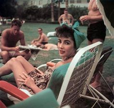 Liz Taylor/ there are times I wish I was around during these good ole' days