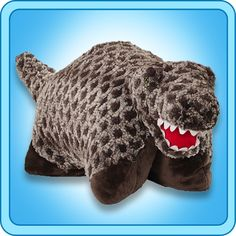 Furiously soft, this T Rex Pillow Pet is so cuddly you'll never want to put it down. Shop for plush dinosaur Pillow Pets online today at My Pillow Pets. Toddler Toys, Kids Toys, Pets Online, Animal Jam, Cute Toys, Animal Pillows, Pillow Pets, Toys For Girls, T Rex